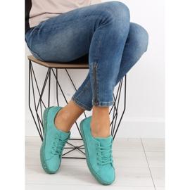 Espadryle full colour turkusowe K1830201 Azul zielone 1
