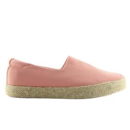 Espadryle slip-on różowe k1833801 Rosa 3