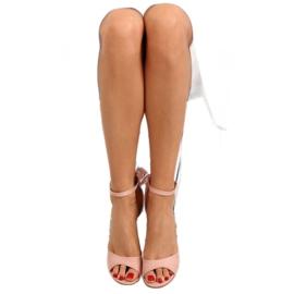 Sandałki na szpilce różowe Z921-7SA-2 pink 3