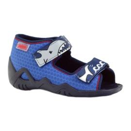 Befado obuwie dziecięce kapcie sandałki 250p069 1