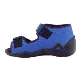 Befado obuwie dziecięce kapcie sandałki 250p069 2