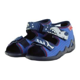 Befado obuwie dziecięce kapcie sandałki 250p069 3