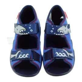 Befado obuwie dziecięce kapcie sandałki 250p069 4