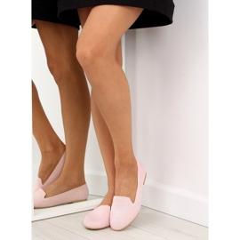 Baleriny lordsy różowe 6080 Pink 2