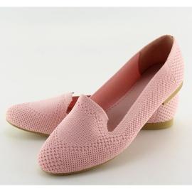 Baleriny lordsy różowe 6080 Pink 3