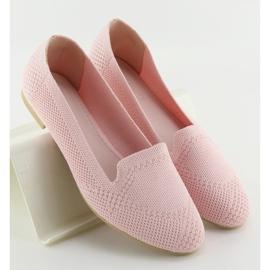 Baleriny lordsy różowe 6080 Pink 4