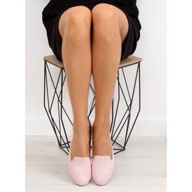 Baleriny lordsy różowe 6080 Pink 5