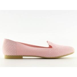 Baleriny lordsy różowe 6080 Pink 6