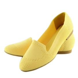 Baleriny lordsy żółte 6080 Yellow 3