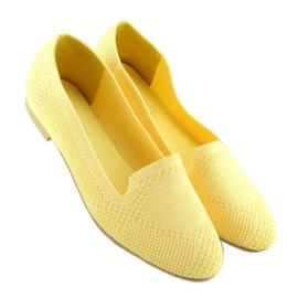 Baleriny lordsy żółte 6080 Yellow 4