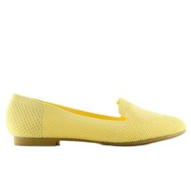 Baleriny lordsy żółte 6080 Yellow 6