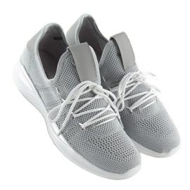 Buty sportowe szare BK367 Grey 4