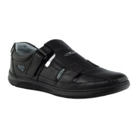 Riko butu męskie sandały dziurkowane 851 szare 1