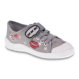 Befado obuwie dziecięce 251Q095 szare 1