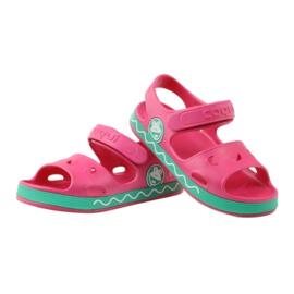 Sandałki Do Wody Żabka COQUI Różowe 3