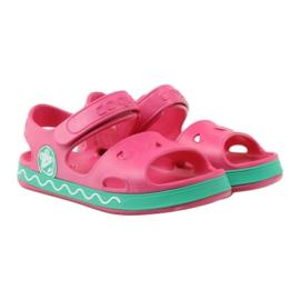 Sandałki Do Wody Żabka COQUI Różowe 4