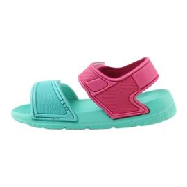 American Club miętowe sandałki dziecięce do wody 6631 2