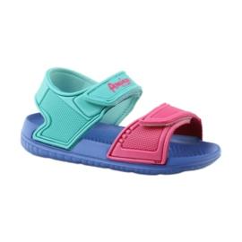 American Club niebieskie sandałki dziecięce do wody 6631 1