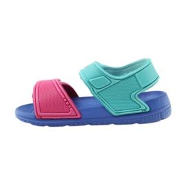 American Club niebieskie sandałki dziecięce do wody 6631 2