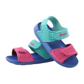 American Club niebieskie sandałki dziecięce do wody 6631 3