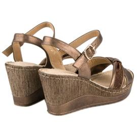 Brązowe sandały vinceza 4