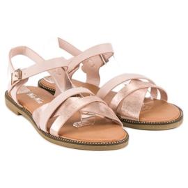 Nio Nio Klasyczne różowe sandały 1