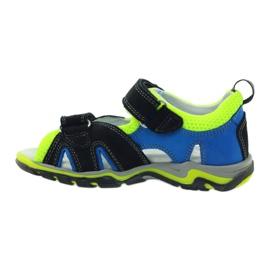 Sandałki Na Rzepy Bartek 16187 kobaltowe 2