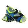Sandałki Na Rzepy Bartek 16187 kobaltowe zdjęcie 3
