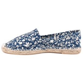 McKey Niebieskie Espadryle W Kwiaty 3