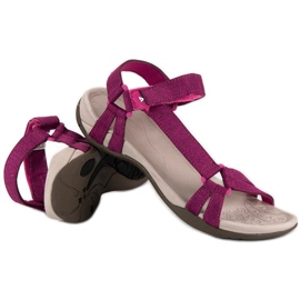 American Club Casualowe sandały american różowe 1