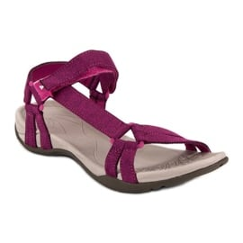 American Club Casualowe sandały american różowe 3