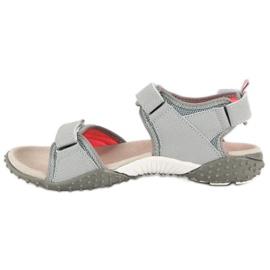 American Club Sportowe sandały american szare 2
