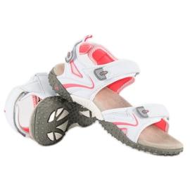American Club Sportowe sandały american białe 4