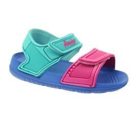 American Club niebieskie sandałki dziecięce do wody 1
