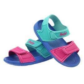 American Club niebieskie sandałki dziecięce do wody 3
