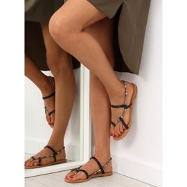 Sandałki japonki czarne 5130 black 1