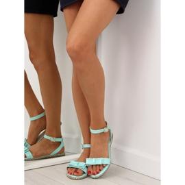 Sandałki pastelowe niebieskie 6128 blue 5
