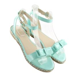 Sandałki pastelowe niebieskie 6128 blue 4