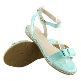 Sandałki pastelowe niebieskie 6128 blue 2