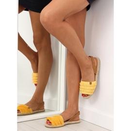 Espadryle w karaibskim stylu żółte 8413 Yellow 5