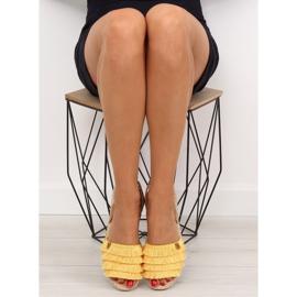 Espadryle w karaibskim stylu żółte 8413 Yellow 3
