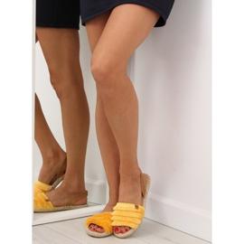 Espadryle w karaibskim stylu żółte 8413 Yellow 4