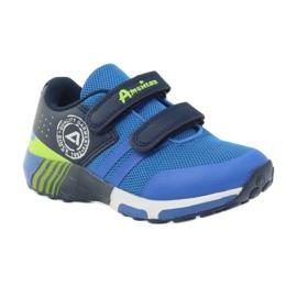 American Club American ADI sportowe buty dziecięce 16687 niebieskie 1
