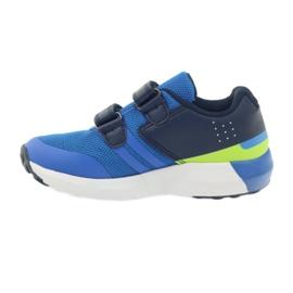 American Club American ADI sportowe buty dziecięce 16687 niebieskie 2