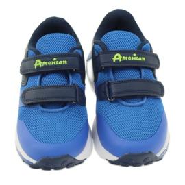 American Club American ADI sportowe buty dziecięce 16687 niebieskie 3