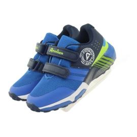 American Club American ADI sportowe buty dziecięce 16687 niebieskie 4
