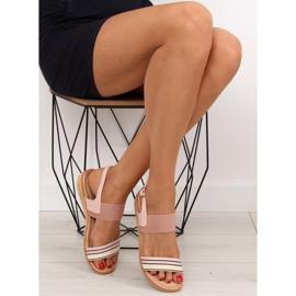 Sandałki damskie różowe J1024-A4 pink 2