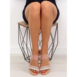 Sandałki damskie różowe J1024-A4 pink 4
