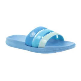American Club American klapki damskie basenowe niebieskie 1