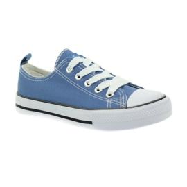 American Club American trampki buty dziecięce tenisówki blue niebieskie 1